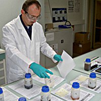 Benoît, 28 ans, technicien chimiste sur le site de CHIMIREC EST