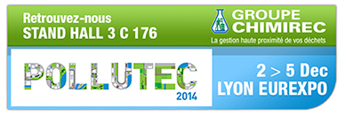 CHIMIREC expose au salon Pollutec 2014