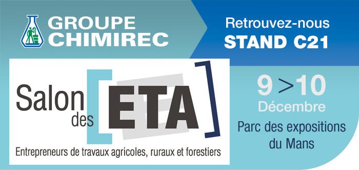 Chimirec expose au salon des entrepreneurs de travaux for Salon des eta