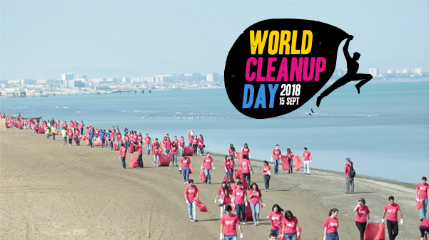 CHIMIREC soutient le World cleanup Day