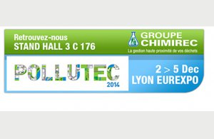 CHIMIREC expose au salon Pollutec